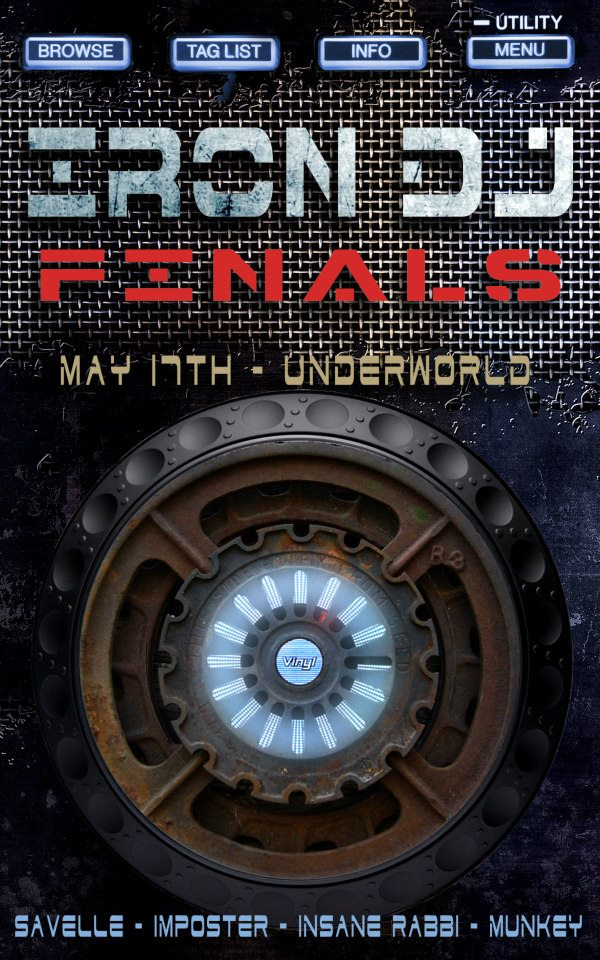 IRON DJ May 17th