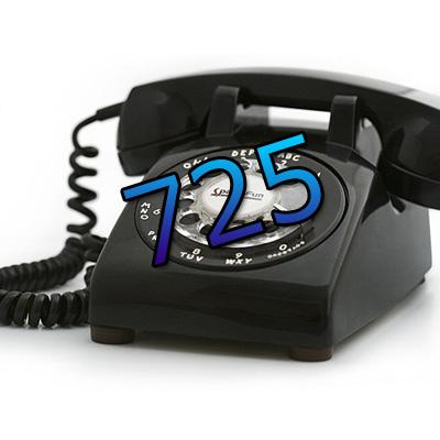 Vegas News: New Area Code 725