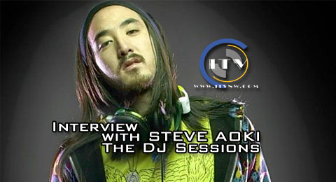 Interview with Steve Aoki – ITV Presents The DJ Sessions