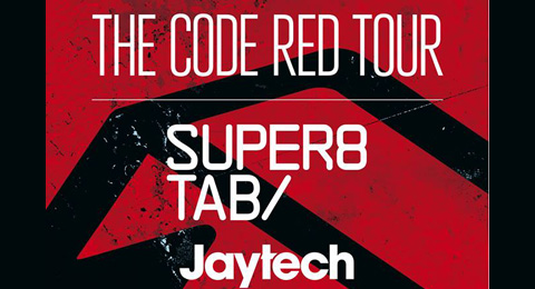 Anjunabeats Presents Super8 & Tab and Jaytech's Code Red Tour